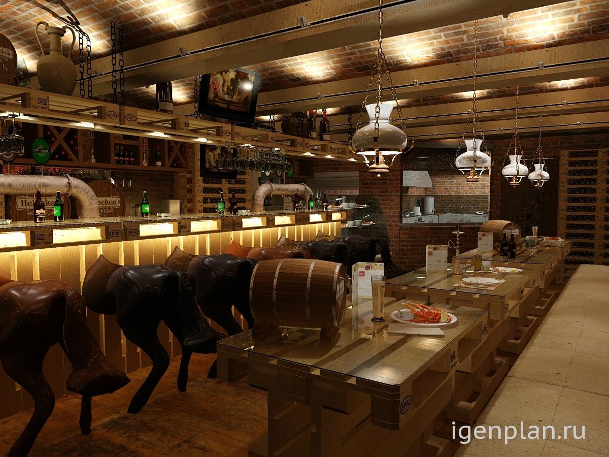 13 октября кафе бар на лестнице: