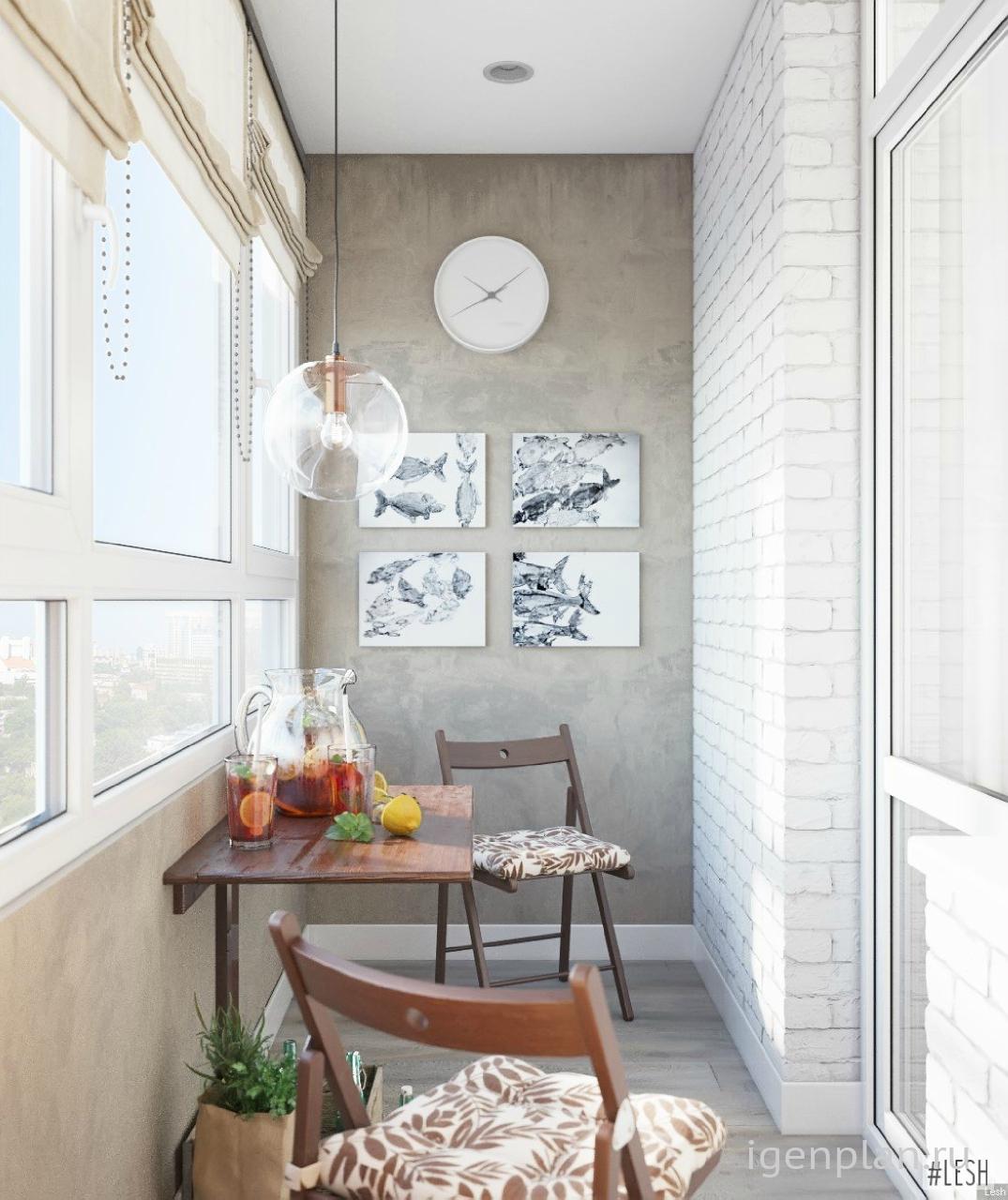 Балкон - эта часть квартиры может служить для самых разнообр.
