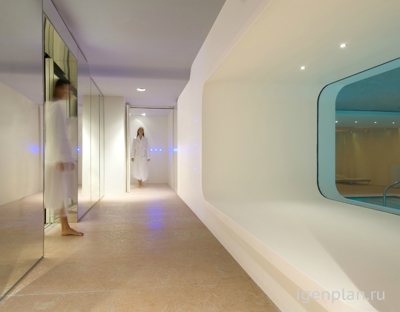 Дизайн медицинских центров и спа