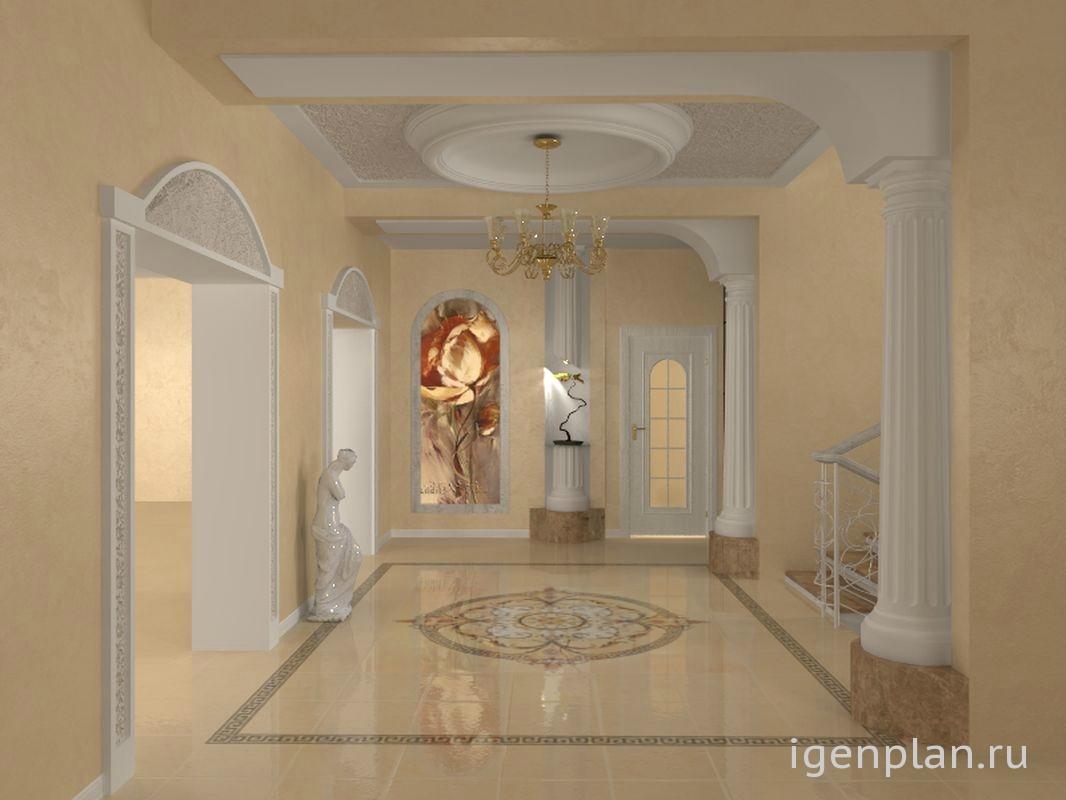 Дизайн коридоров гостиниц
