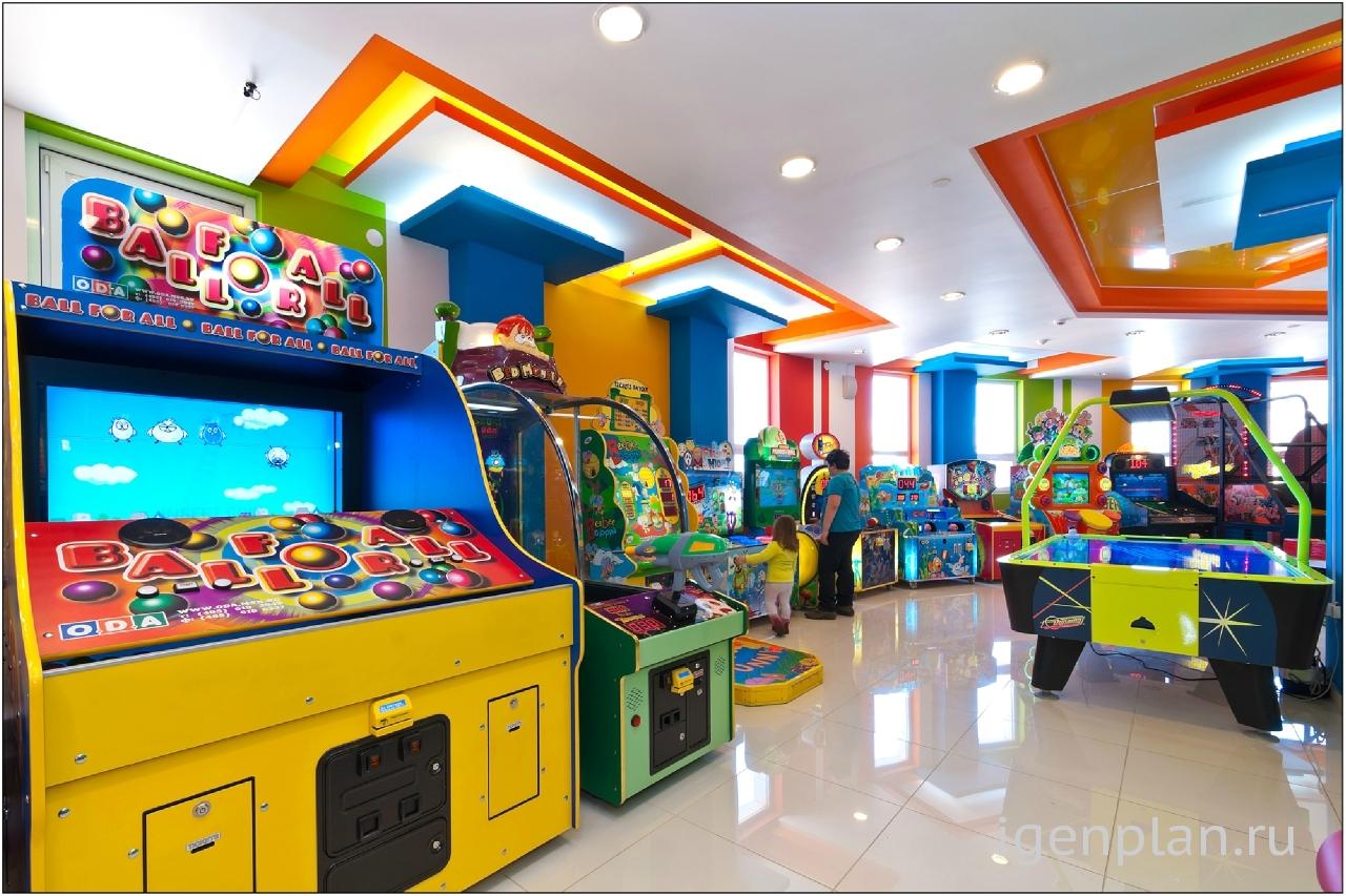 Развлекательный центр детям фото