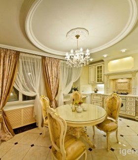 Интерьеры кухонь фото стиль барокко